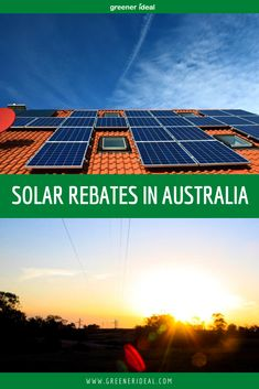 The government in Australia has made it very easy to participate in the renewable energy boom and add solar power to your home or business. Homeowners and business owners can now add solar power to their own energy mix, and receive benefits from the states. Learn all about Solar Rebates in Australia! #GoSolar #SolarEnergy #SolarPanel #SolarPanels #Technology #SolarTechnology #Australia #SaveMoney #Rebate #GreenLivingTips #Home #Office Pv Panels, Solar Panels, Renewable Energy, Solar Energy, Solar Rebates, Green Living Tips, Solar Water, Solar Power System, Water Heating