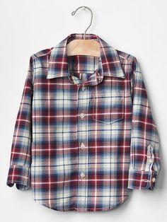 Plaid shirt Product Image
