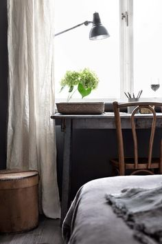 neutral tones in a Swedish apartment | styling Hans Blomquist