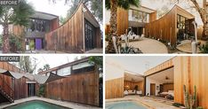 Before & After – A Redwood Clad 1980s Home In Phoenix Gets Restored Back To Its Original Beauty
