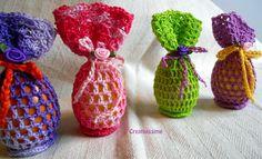 Uovo di Pasqua all'uncinetto, by CREATIVISSIME, 5,00 € su misshobby.com