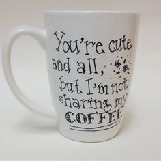 Your cute and all buuuuuut Please know:: EACH mug u see in the pics will LOOK AS CLOSE AS POSSIBLE to the mug you receive in the mail! Please note: you are paying for the design; not the mug:) I out A TON of love and dedication into each and every mug that is ordered! Also, I ship out as soon as I get your mug! I do buy each mug plain and craft myself! Reminder, it is the holidays so I am crammed with other ordered mugs!!✨☕️ Other