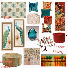 His Wife. Their Mommy.: Living Room Style Ideas {Home Interior Mood Board} - His Wife. Their Mommy.: Living Room Style Ideas {Home Interior Mood Board} - Living Room Styles, Living Room Color Schemes, Living Room Colors, Living Room Designs, Living Room Decor, Teal Living Rooms, Living Room Turquoise, Living Room Orange, Diy Interior