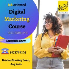 This Digital Marketing course offered by Digital Platter Learning Studio is well suited for undergrads, graduates, postgraduates, managers, executives, marketing professionals, and other experienced individuals who are looking to accelerate their career in the exciting world of Digital Marketing. This course is also very beneficial for Entrepreneurs, Start ups and CEO's of mid-level companies.  So grab your seat now!!!!! For more details contact us : 9175788103 Digital Marketing Services, Email Marketing, Content Marketing, Social Media Marketing, Course Offering, Marketing Professional, App Development, Platter, Career