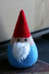 "Norman the Doorman is a super-sized Gnome for your Home, inspired by Raynor Gellatly's Travelling Gnome, with some noteable differences - Normie is knit in the round from the bottom up, is almost 9"" tall, and 15"" round, and unlike the Travelling Gnome, Normie is no world traveler. In fact, he is the ultimate home body, guaranteed to stand guard at your door until the cows come home. So grab some indestructible acrylic yarn and get your gnome on."