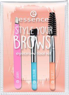 style your brows! kit accessori per sopracciglia - essence cosmetics