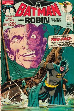 Batman #234 (1971).  Cover art:  The outrageous Neal Adams.