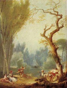 Fragonard - A Game of Horse