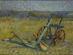 "Jean Paul Marie Sain (French, 1853-1908), ""The Plough,"" creation date unknown; Indianapolis Museum of Art, The Holliday Collection, 79.312"