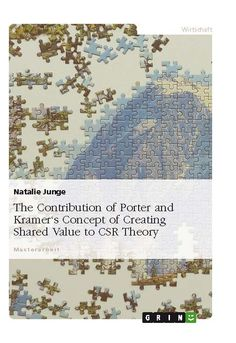 The Contribution of Porter and Kramer's Concept of Creating Shared Value to CSR Theory. GRIN: http://grin.to/fCR8i Amazon: http://grin.to/OFwMD