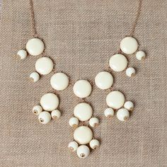 Image of Ivory Bubble Necklace