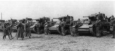 Polish 7TP | segunda-feira, 25 de março de 2013 Pollish 7TP light tanks at inspection