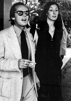 Anjelica Huston & Jack Nicholson... Two actors that Rock Hollywood and scared the Bejesus Outta Me...