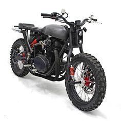 Yamaha XS 650 Scrambler by White Collar Bike #motorcycles #scrambler #motos   caferacerpasion.com