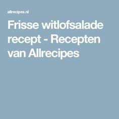 Frisse witlofsalade recept - Recepten van Allrecipes