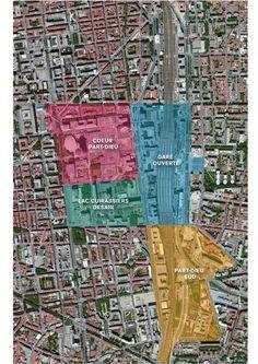 Lyon Part-Dieu, territoire de projets : la gare, le cœur Part-Dieu, le secteur Lac/Cuirassiers/Desaix, Part-Dieu Sud