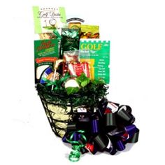 Golf Ball Bucket Gift Basket & MANY OTHER GOOD GIFT IDEAS FOR HIM ;)