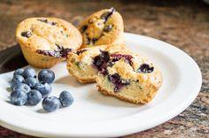 Mini Muffins de Blueberry