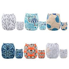 #manythings.online #Alva cloth diapers draw more recommendations of the mother. Feature They contain more comfortable material and fine workmanship. Touching sof...