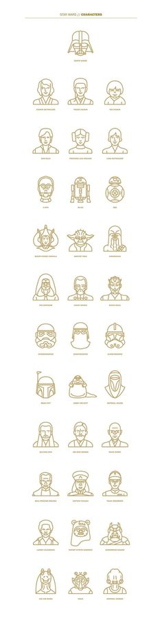 Star Wars | Expanded universe | Vector Art of Star Wars characters