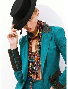 Anna Selezneva in Ralph Lauren Collection 2013