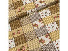 Bavlněné plátno 103000/6339-1 BEIGE béžový patchwork, š.140cm (látka v metráži) | TextilCentrum.cz Quilts, Blanket, Scrappy Quilts, Comforters, Quilt Sets, Kilts, Rug, Blankets, Patchwork Quilting