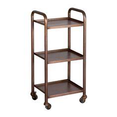 Vintage-Inspired Steel Rolling Cart - Small | dotandbo.com