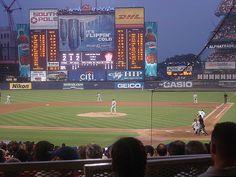 Shea Stadium 7/14/07 Mets Baseball, Baseball Players, Baseball Field, Football, Ny Mets, New York Mets, Lets Go Mets, Mlb Stadiums, Shea Stadium