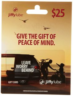 Jiffy Lube: $50 Worth of Gift Cards for only $40! HURRY!