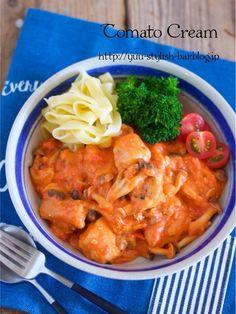 10分煮るだけ♩長時間煮込んだような旨味とコク♩『チキンのトマトクリーム煮』|LIMIA (リミア)
