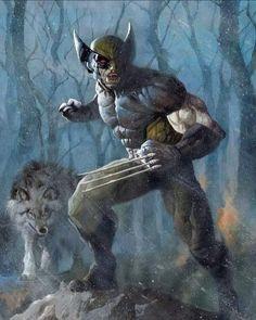X Men Personajes, Xmen Comics, Man Child, Wolverine, Video Game, Comic Books, Batman, Artwork, Painting