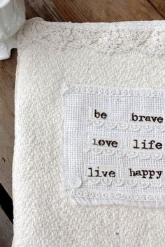 be brave love life ipad cover