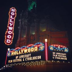 hollywood theater in