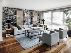 gri renk renk eklektik tarz tarz Oturma Odası resimlerine göz gezdirin: . Evinizi yaratırken fikir ve ilham almak için tarzınıza en uygun fotoğraflara ulaşın.