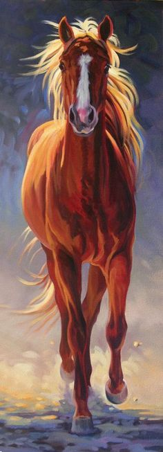 self-service-com.over-blog.com #OilPaintingHorse