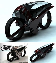 """""""Alien"""" designed by Daniel Bailey and inspired by Speed and alien characters in the movie...""""Alien"""""""