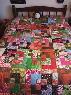 SRAP Quilt / Bento Box Quilt by Pickled Tink, via Flickr