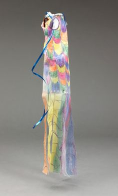Chinese Floating Fabric lesson plan--make your own windsock.
