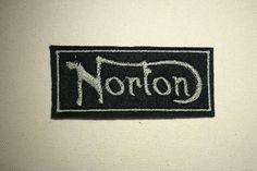 Norton   Embroidered IronOn SewOn Patch