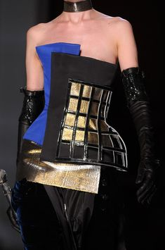 Jean Paul Gaultier at Couture Fall 2012 (Details)