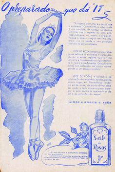 #vintage #advertising #penserosa #leitederosas #lettering