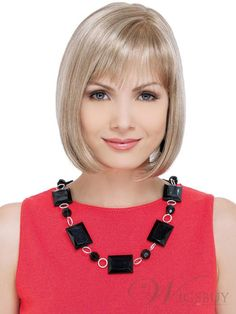 Bob Hairstyle 100% Remy Human Hair Straight Wig about 10 Inches for A Sweet Lady Super Cheap. Get unbelievable discounts up to 70% Off at Wigs with coupon and Promo Codes.