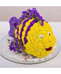 Игрушка из цветов Нэмо (20118)
