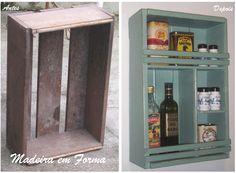 Restauração e reciclagem de móveis.