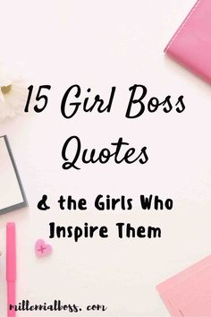 Here are the 15 best girl boss and boss women quotes and the women who inspire them. Grab your favorite boss babe quotes and learn about inspiring women. Woman Quotes, Girl Quotes, Happy Girls Day, Girl Day, Inspiration Entrepreneur, Entrepreneur Motivation, Business Motivation, Quotes Motivation, Motivational Quotes