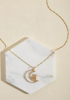 Lenora Dame Fly Me to the Mew Necklace
