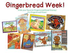 What do you do for Gingerbread Week at your school? Do you have a week dedicated to a cookie? Here's what goes down at our school. The picture shows the books I read this week but if you click it you will head to amazon to check out gingerbread stories… These are my visual plans …