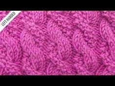 The Textured Cable Stitch :: Knitting Stitch :: New Stitch a Day