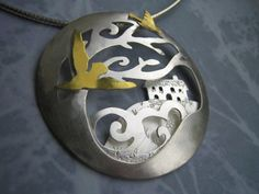 Lucy Palmer Jewellery : Jewellery : Fairytales and Stories : Wuthering Heights Pendant