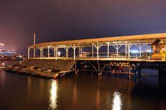 Muelle de Iquique. Foto de Cristián Valdés Rojas.